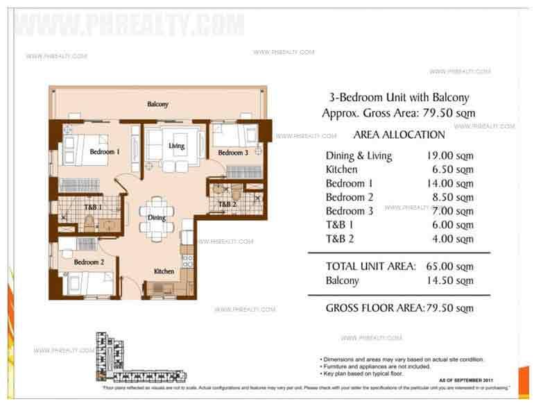 Unit With Balcony 3 - Bedroom