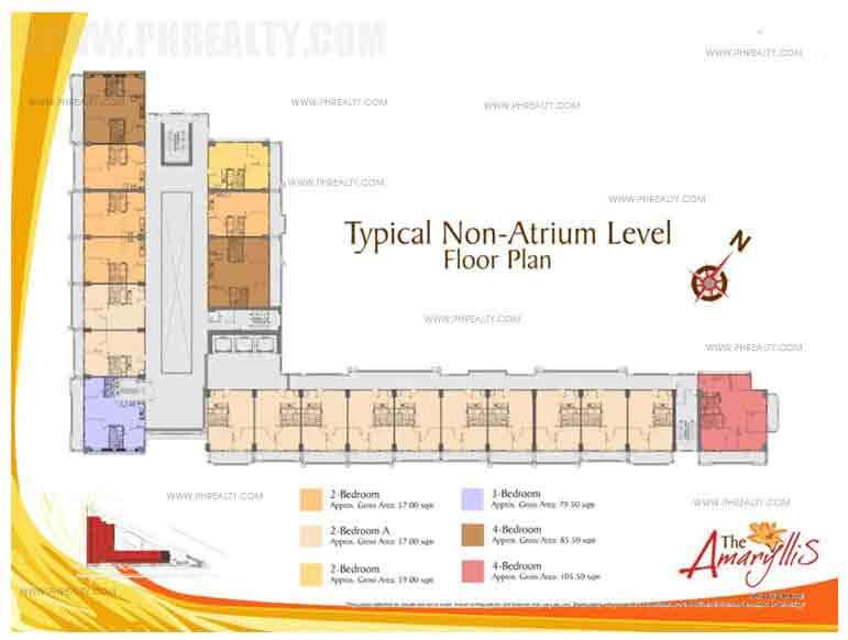 Typical Non- Atrium Level Floor Plan