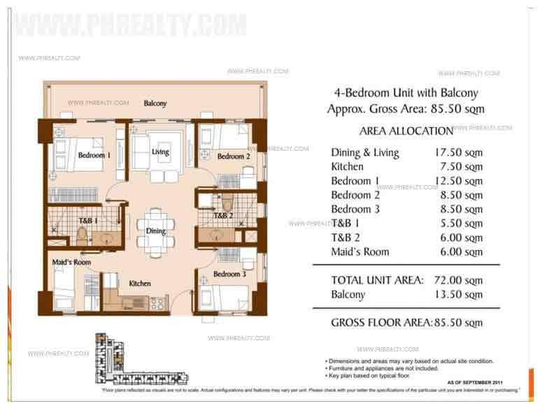Unit With Balcony 4 - Bedroom