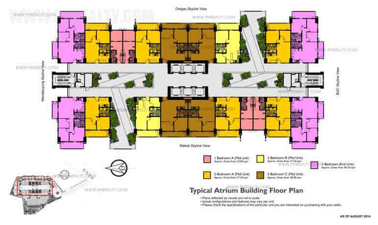 Typical Atrium Floor Plan