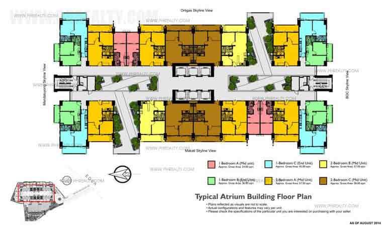Typical Atrium Floor Plan
