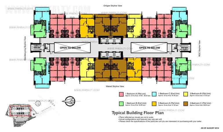 Typical Standard Floor Plan