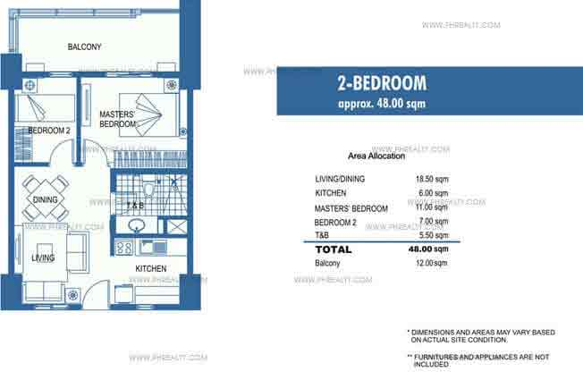 Unit B 2 - Bedroom