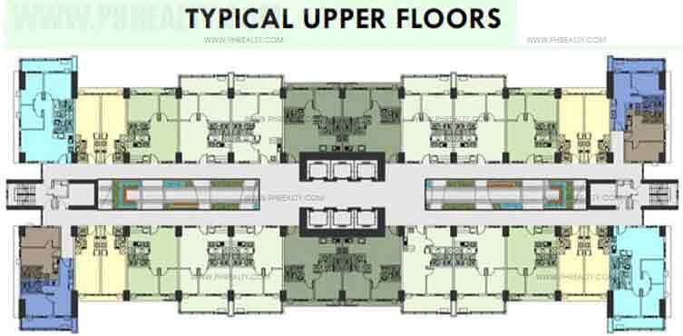 Typical Upper Floors