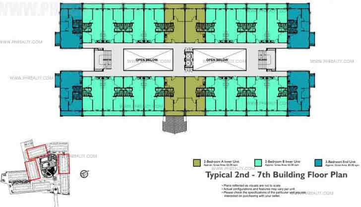 Typical 2nd To 7th Floor Plan