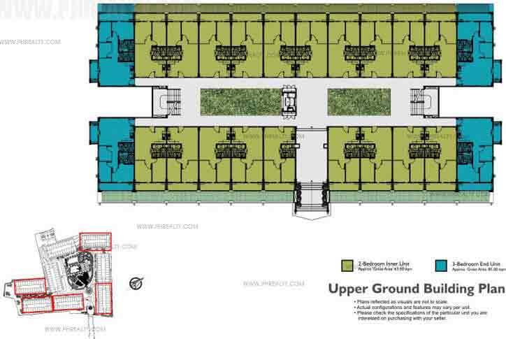 Typical Upper Ground Floor Plan