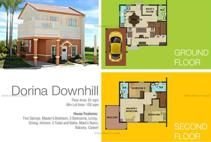 Dorina Down Hill House Fetures And Specifications
