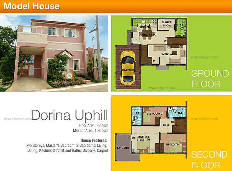 Dorina Up Hill Model House Features And Specifications