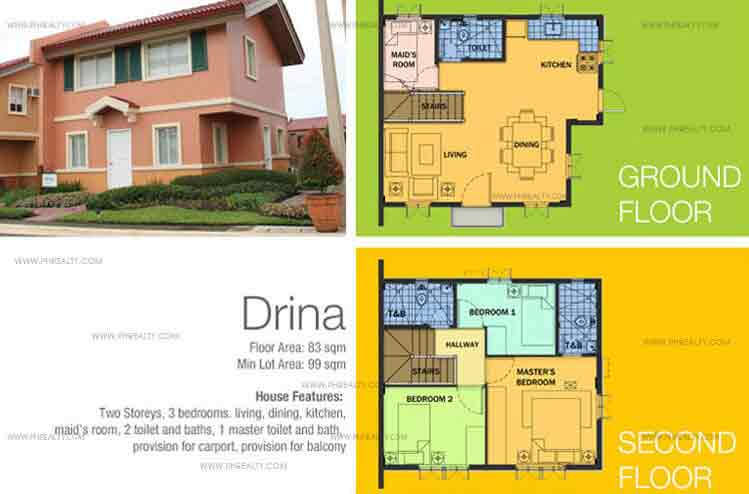 Drina House Features And Specifications