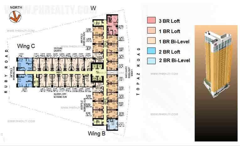 Typical Floor Plan(6th -36th Floor)
