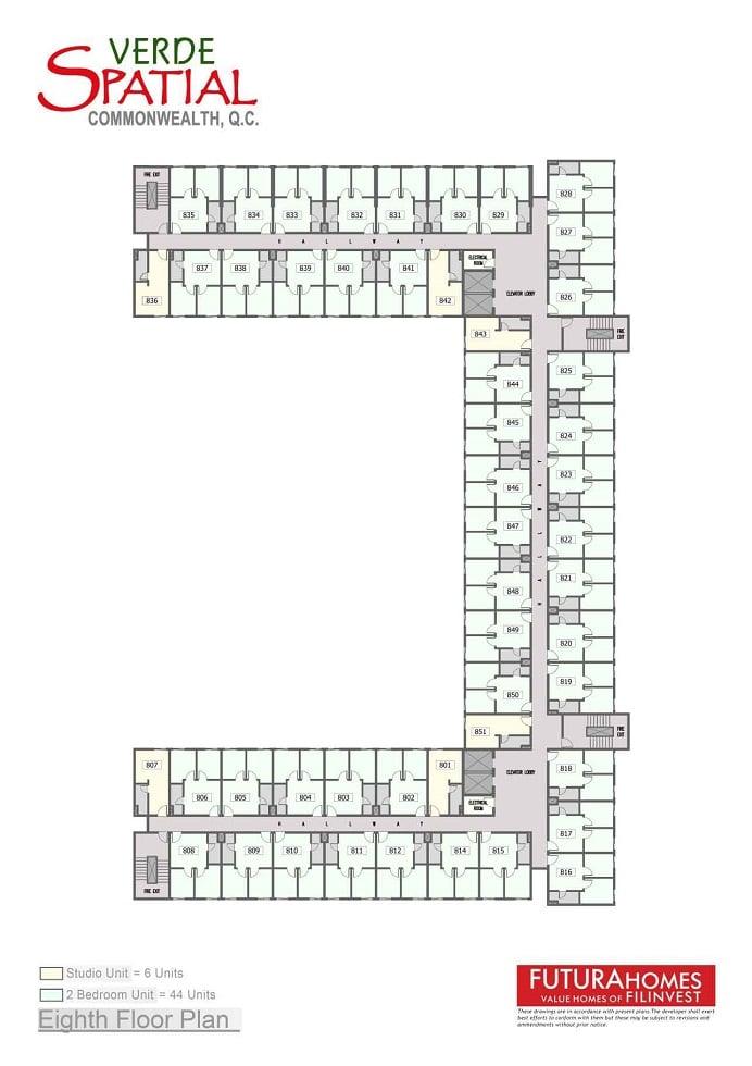 Eight Floor Plan
