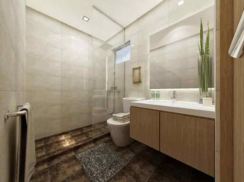 Eleganza Single Attached Master Toilet & Bath
