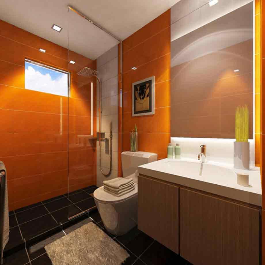 Eleganza Townhouse Common Toilet Bathroom