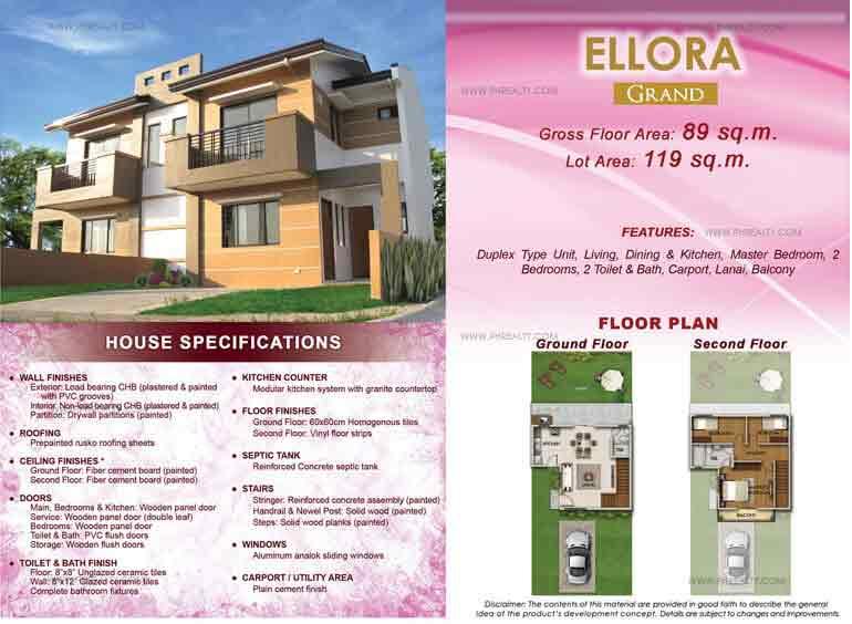 Ellora Grand Floor Plan