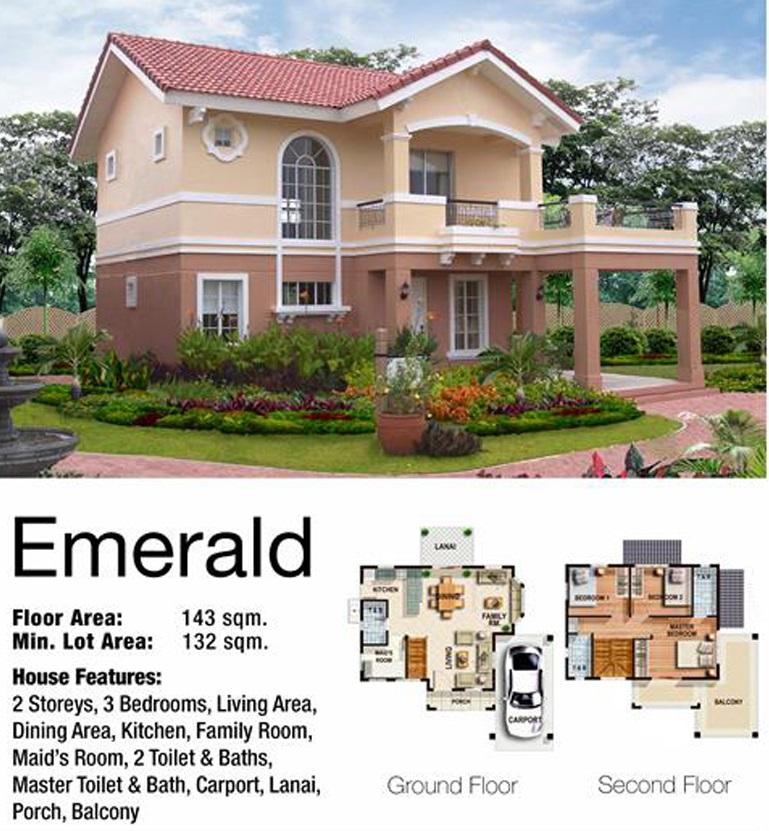 Emerald Floor Plans
