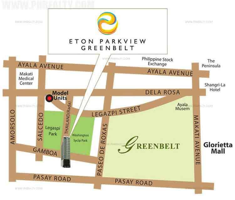 Eton Parkview Greenbelt Location