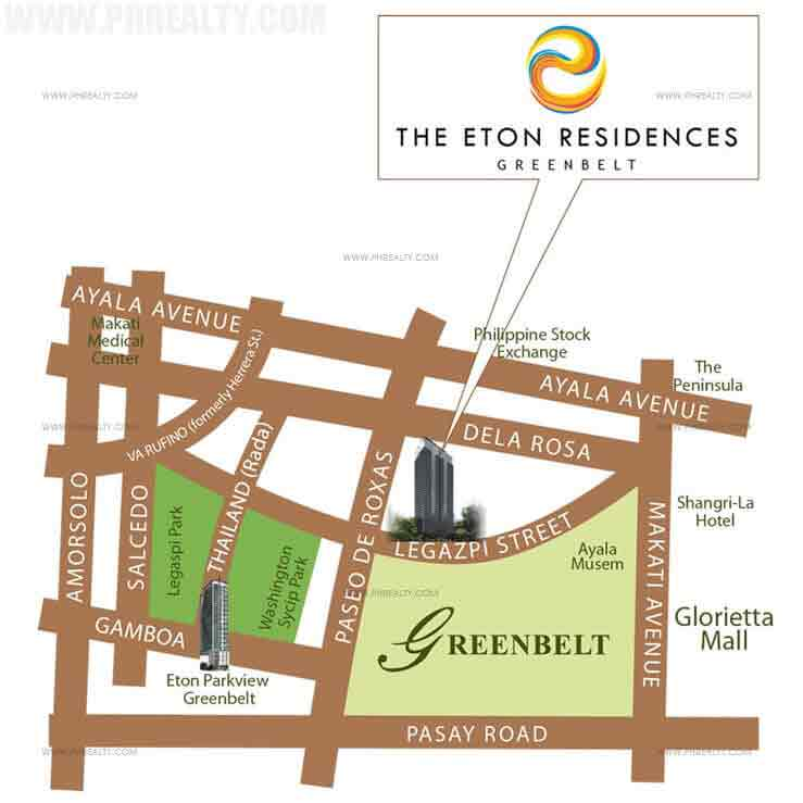 Eton Residences Greenbelt Location