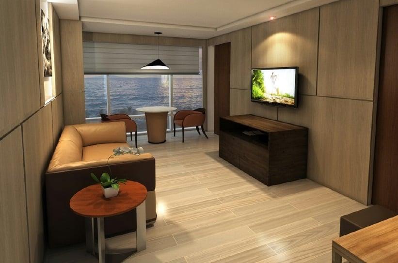 Executive Room - Living Area