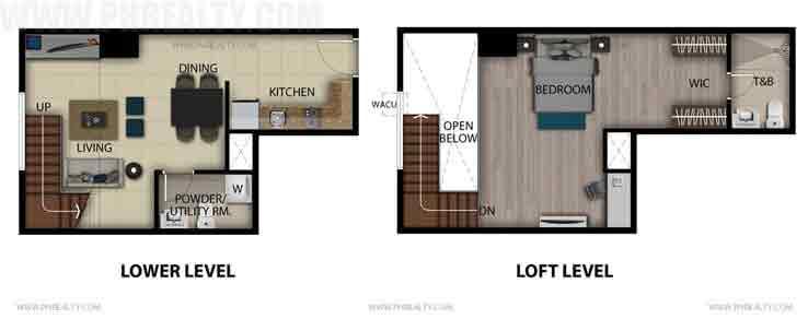 Executives Studio Loft Unit A,L