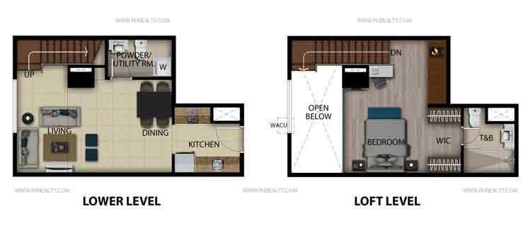 Executives Studio Loft Unit B,K