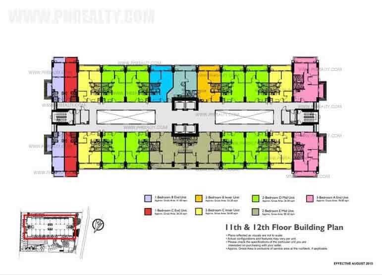 11th 12th Floor Building Plan