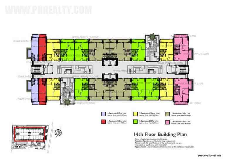 14th Floor Building Plan