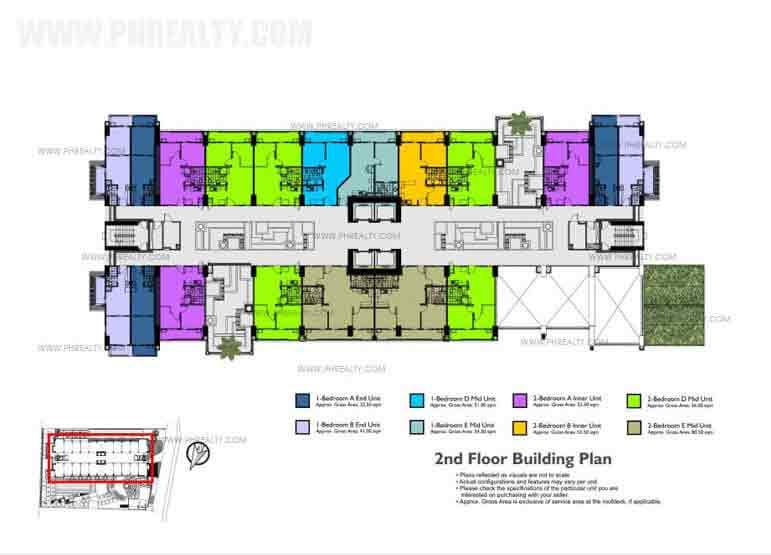 2nd Floor Building Plan