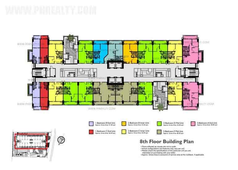 8th Floor Building Plan