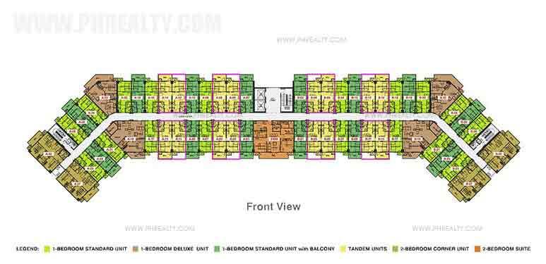 3rd-8th Floor Plan