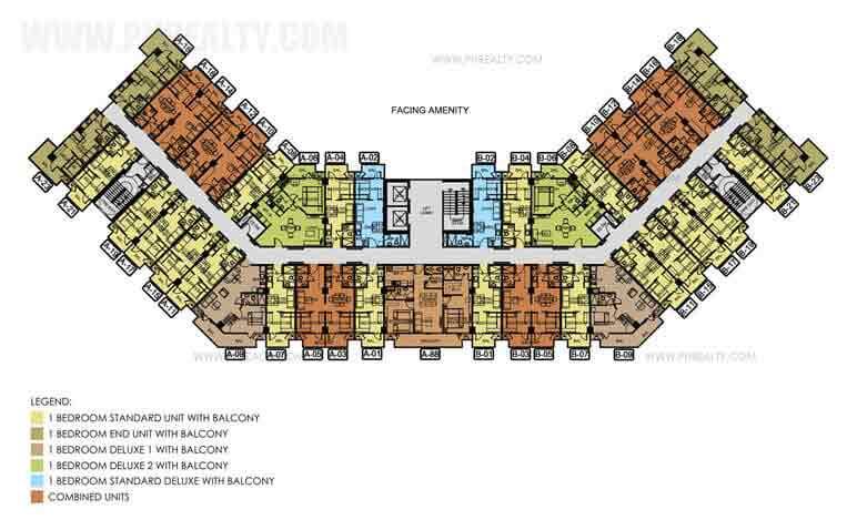 3rd - 12th Floor Plan