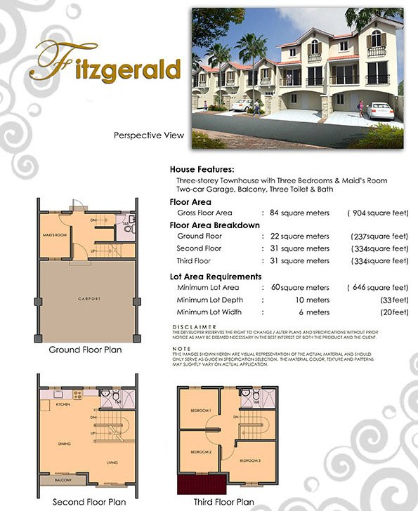Fitzgerlad Floor Plan