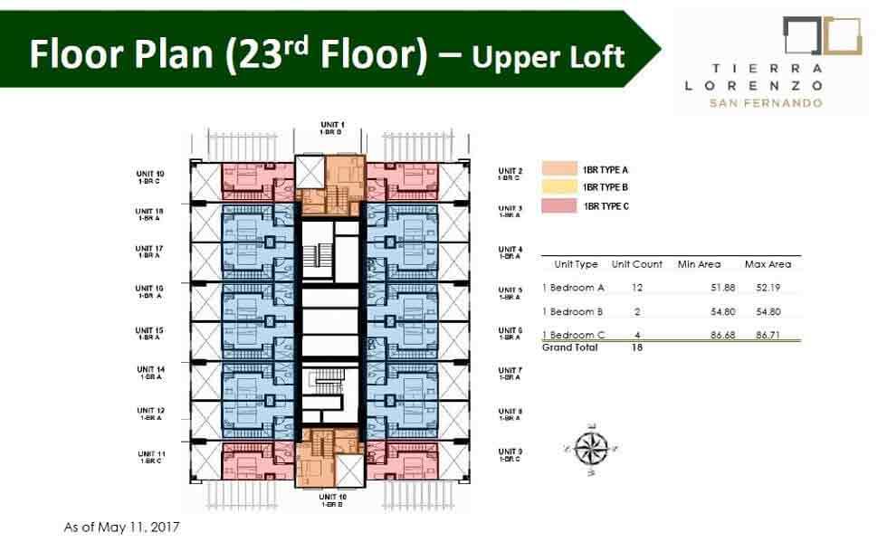 Floor Plan (23rd Floor) - Upper Loft
