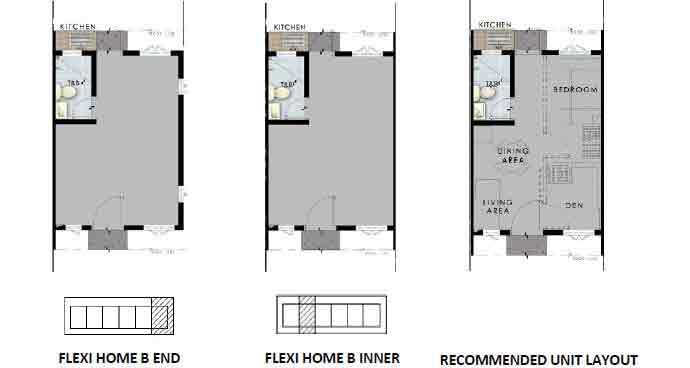 Flexi Home B Unit Plans