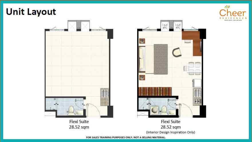 Flexi Suite Unit Layout