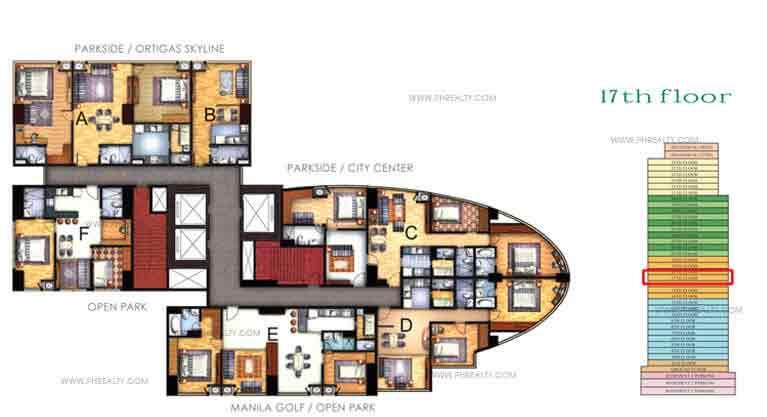 Floor Plan 17th