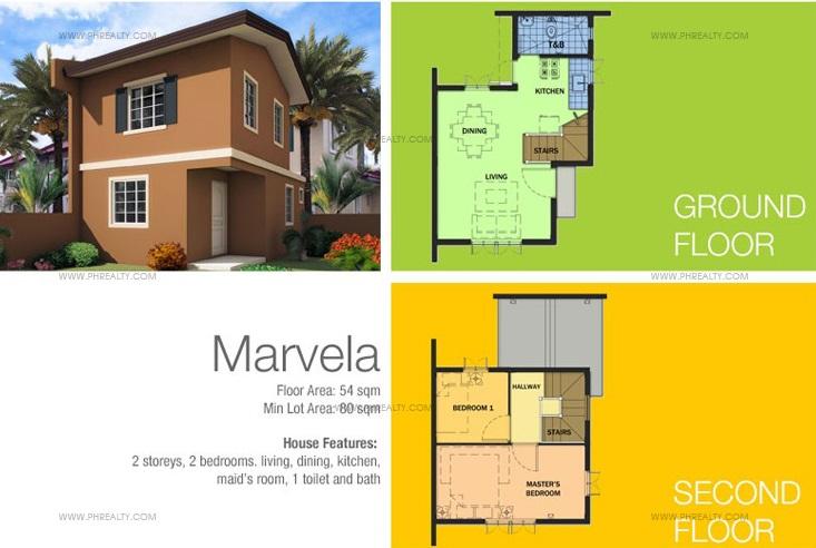 Marvela Floor Plans