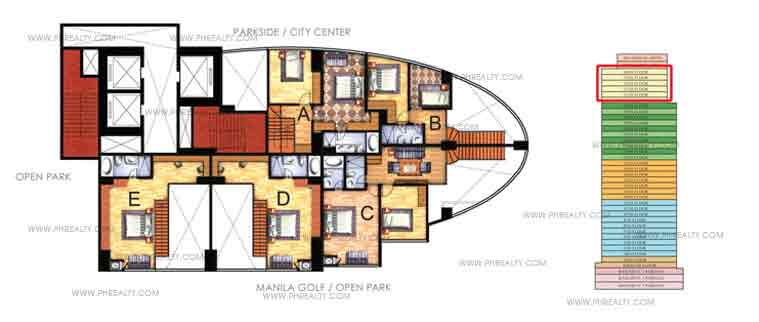 Upper Loft Floor Plans