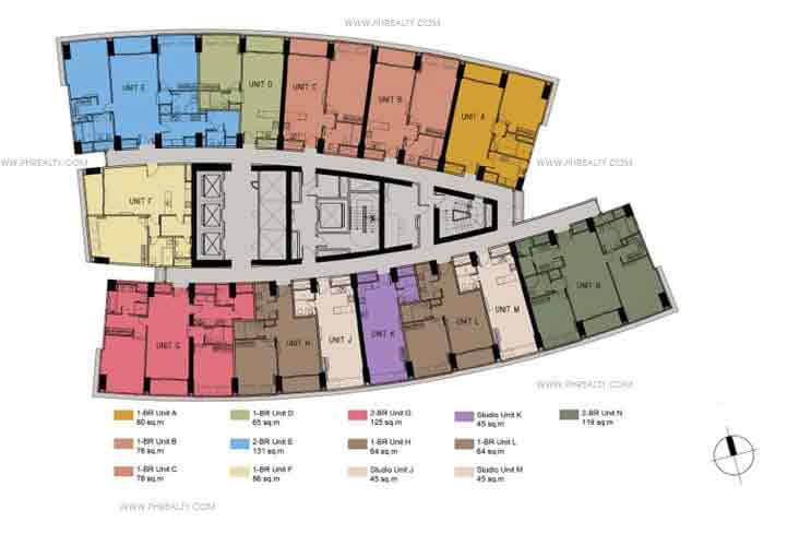 Floor Plans- 11th to 32nd