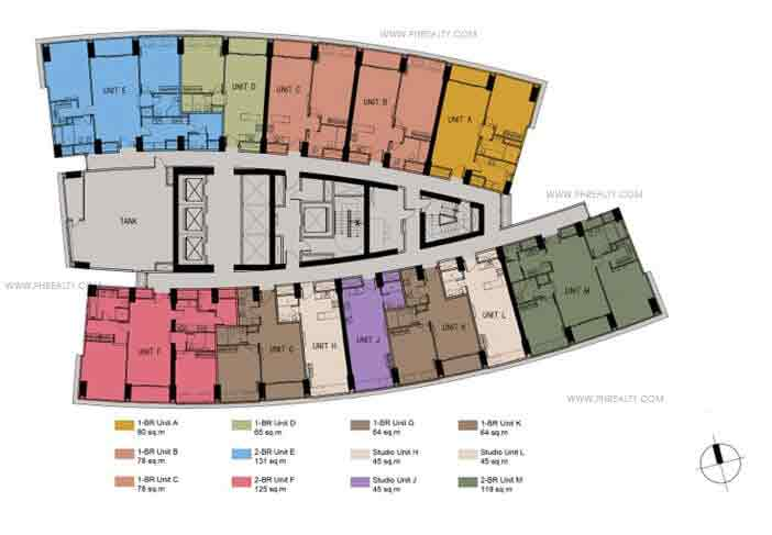 Floor Plans- 33rd to 34th