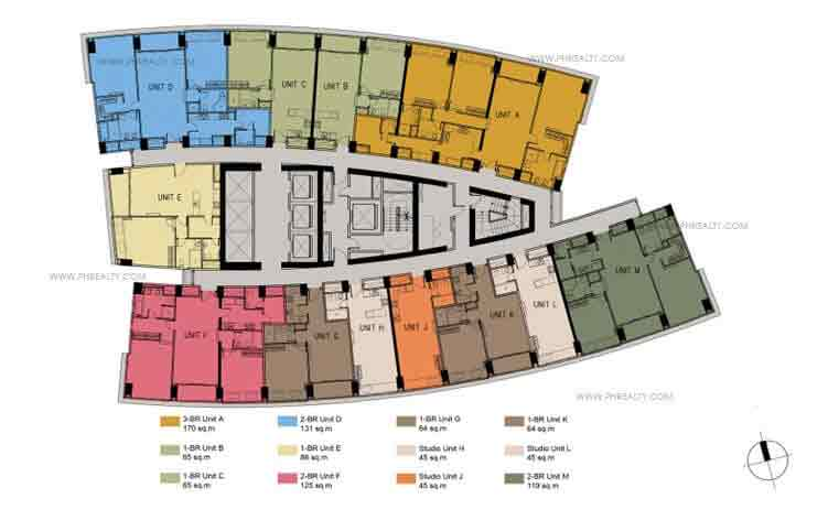 Floor Plans -35th to 38th