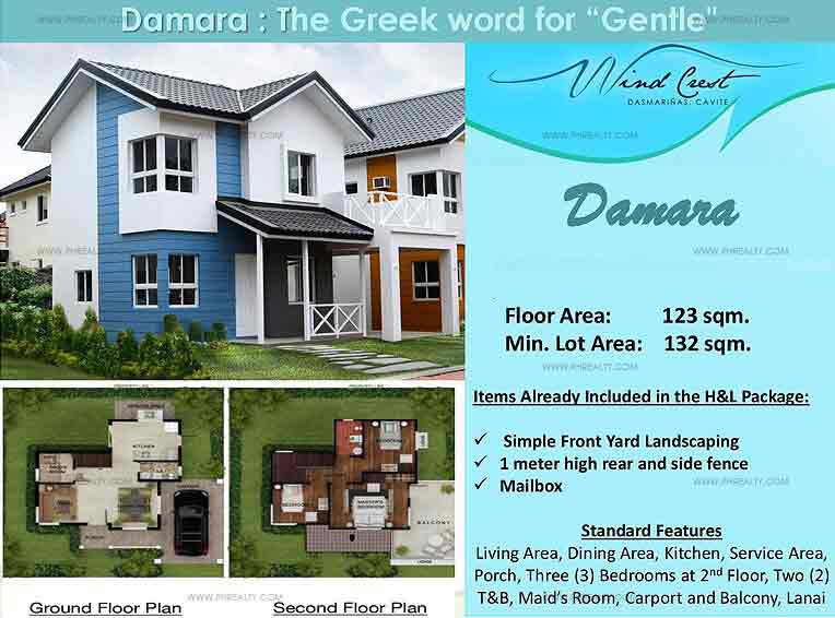 Damara Floor Plan