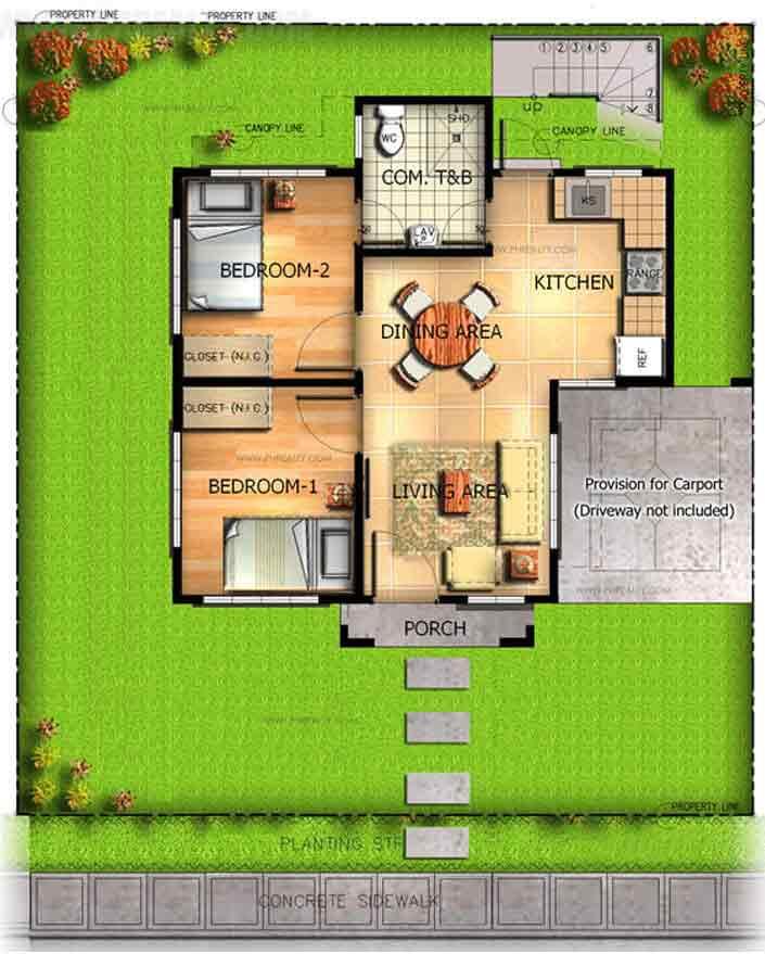 Molave Floor Plan