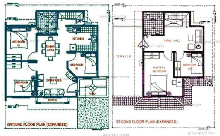 Daphne Floor Plan