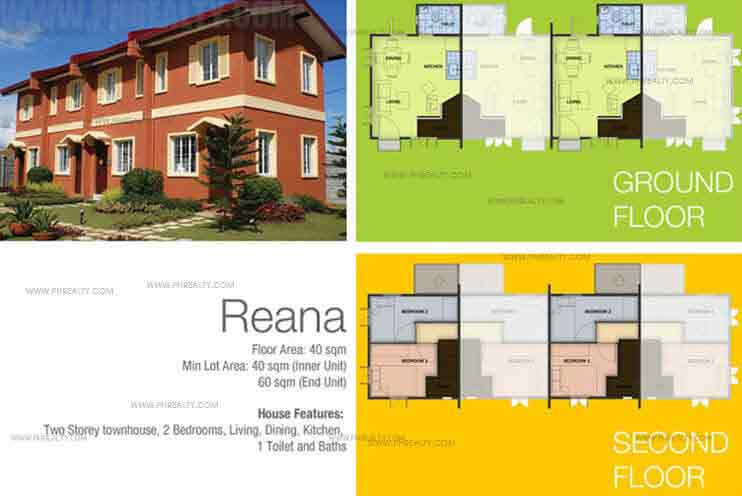 Reana Town House Features And Specifications