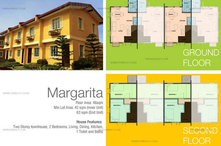Margarita Model House Features & Specifications