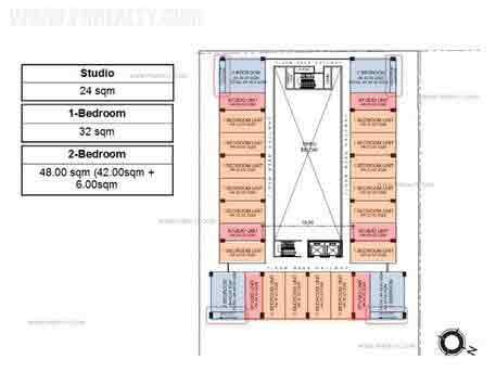 Floor Plan (Level 4 to 14)