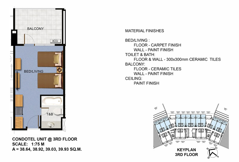 Condotel Unit (3rd Floor)