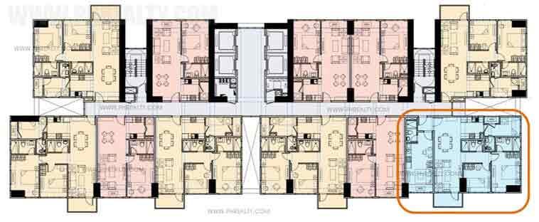 Floor Plan With Twin Flats