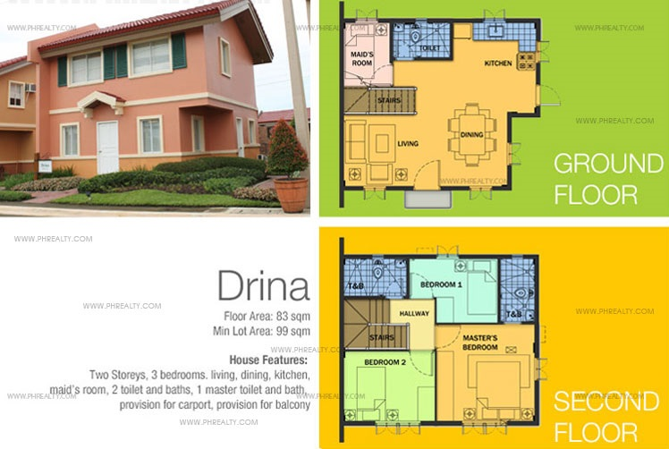 Drina House Features & Specifications