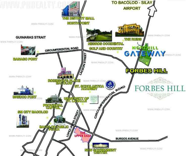 Forbes Hill Bacolod Location